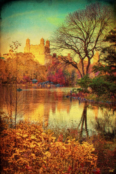 Photograph - Fall Afternoon In Central Park by Chris Lord