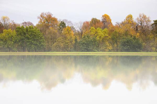 Fall And Fog Art Print