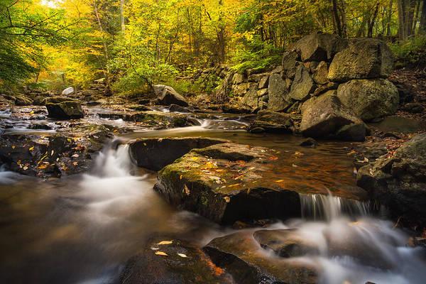 Photograph - Fall At Gunstock Brook by Robert Clifford