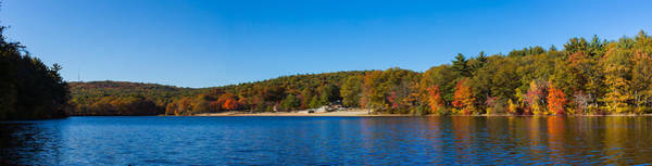 Photograph - Fall At Houghtons Pond Panorama by Brian MacLean