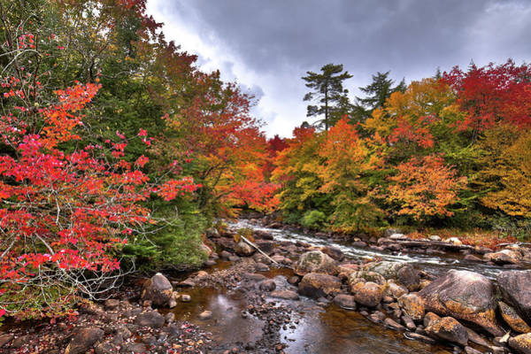 Photograph - Fall At Indian Rapids by David Patterson
