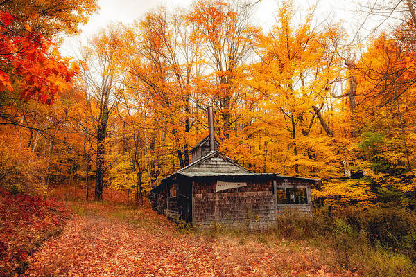 Photograph - Fall At The Sugar House by Robert Clifford