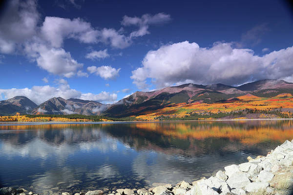 Fall At Twin Lakes Art Print