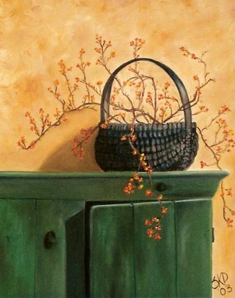 Painting - Fall Berries - Sold by Susan Dehlinger