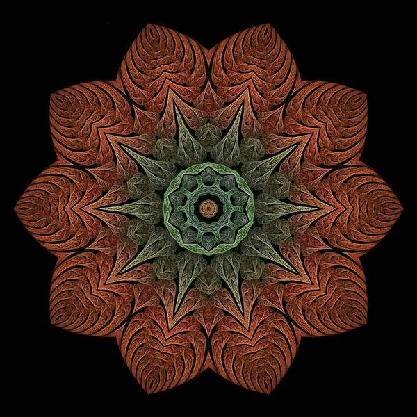 Digital Art - Fall Blossom Zxk-4310-2a by Doug Morgan