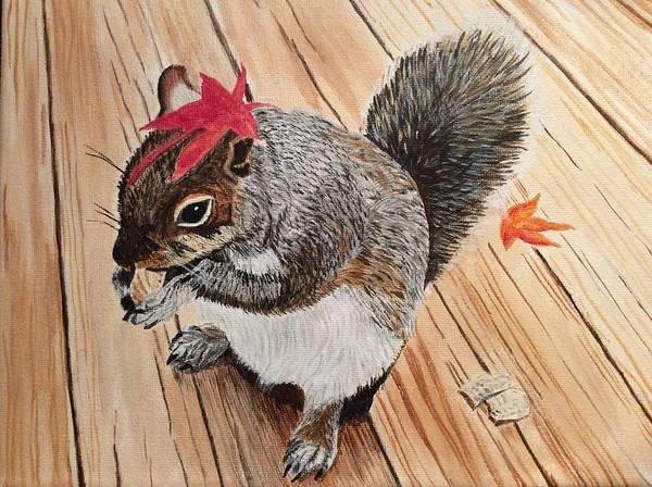 Painting - Fall Bonnet by Sonja Jones