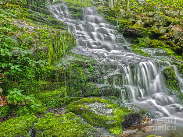 Wall Art - Photograph - Fall Brook Falls Hdr 1 by Frank Piercy