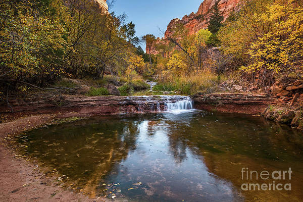Wall Art - Photograph - Fall By The River by Jamie Pham