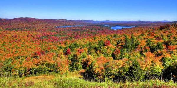 Photograph - Fall Color From Mccauley Mountain by David Patterson