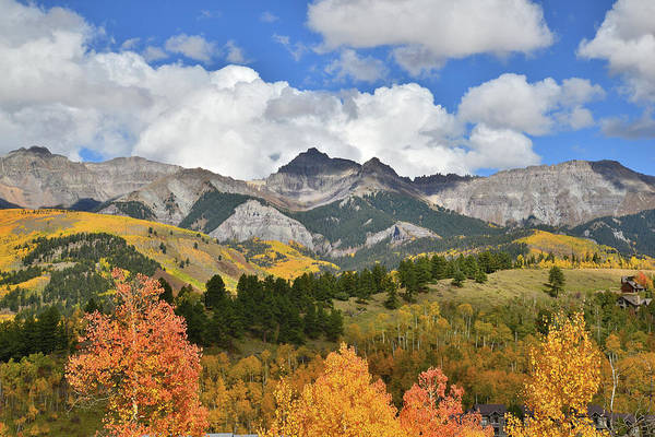 Photograph - Fall Color In Telluride by Ray Mathis