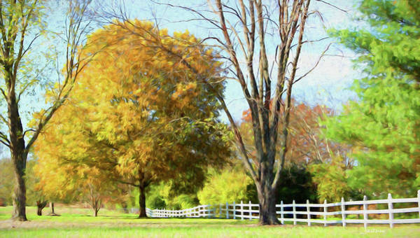 Painting - Fall Colors 497 - Painting by Ericamaxine Price
