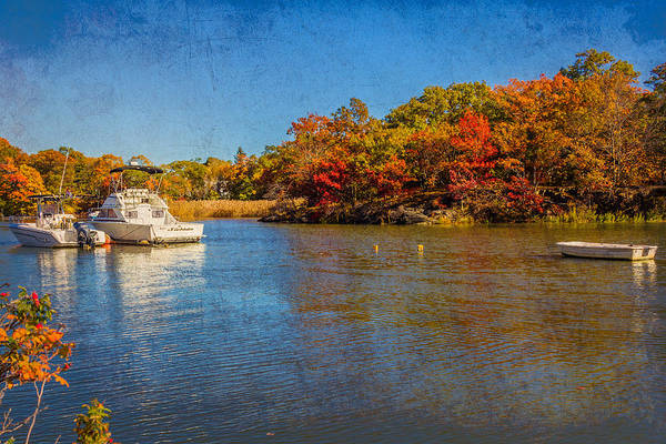 Photograph - Fall Colors At Milton Landing by Brian MacLean