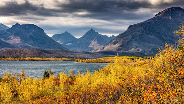 Photograph - Fall Colors In Glacier National Park by Pierre Leclerc Photography