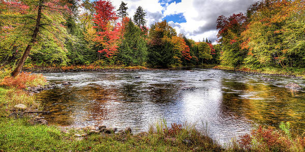 Photograph - Fall Colors On The Moose River by David Patterson