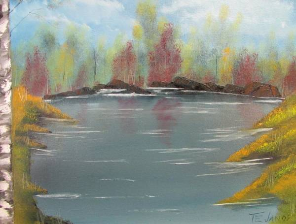 Painting - Fall Colors by Thomas Janos