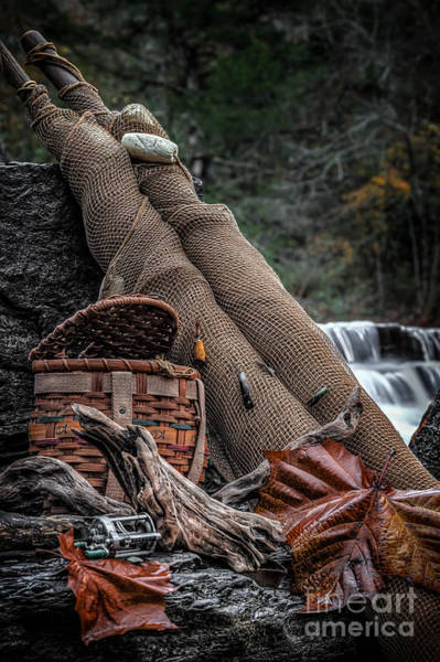 Photograph - Fall Creation by Larry McMahon