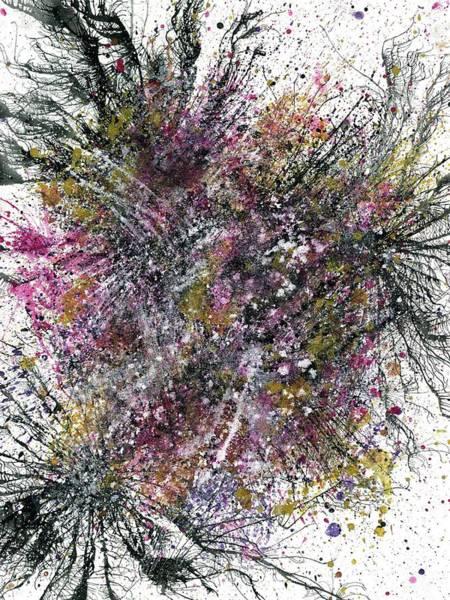 Brain Cell Painting - Fall Equinox In Lemuria #507 by Rainbow Artist Orlando L