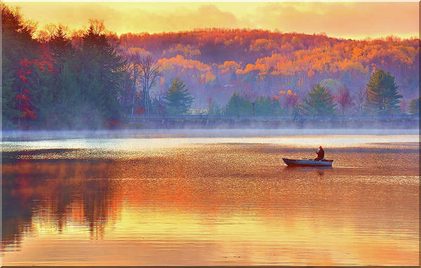 Bernadette Photograph - Fall Fishing by Bernadette Chiaramonte