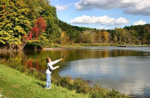 Photograph - Fall Fishing by Kristin Elmquist