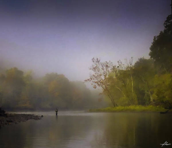 Photograph - Fall Fly Fishing by Philip Rispin