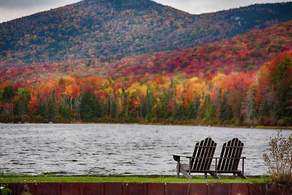 Fall Foliage At Noyes Pond Art Print