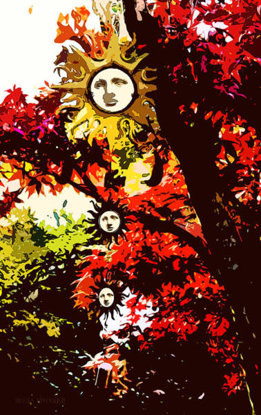 Photograph - Fall Goddess by Susan Vineyard