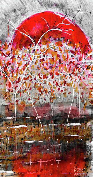 Mixed Media - Fall-iage V2.0 by Jason Nicholas