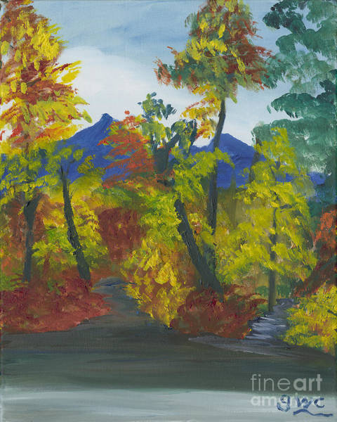 Wall Art - Painting - Fall In All Its Glory by Gloria Condon