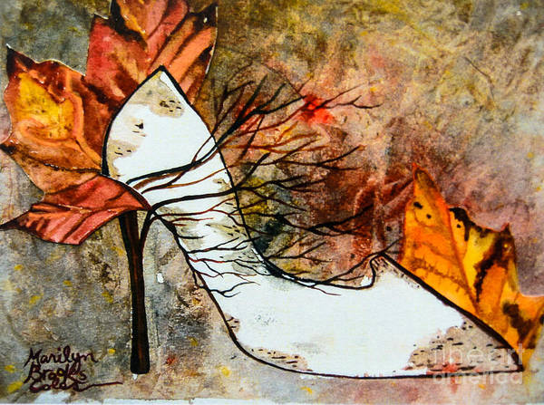 Painting - Fall In Art by Marilyn Brooks