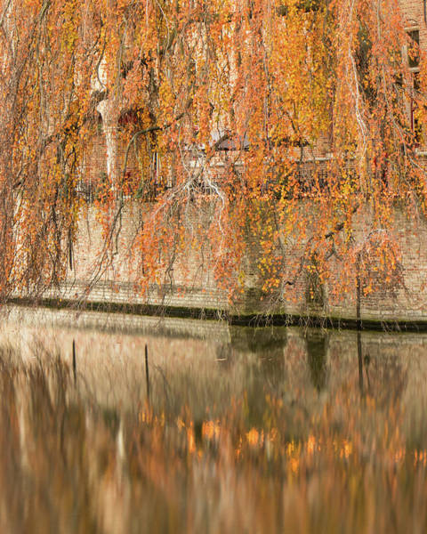 Fall In Bruges, Belgium Art Print