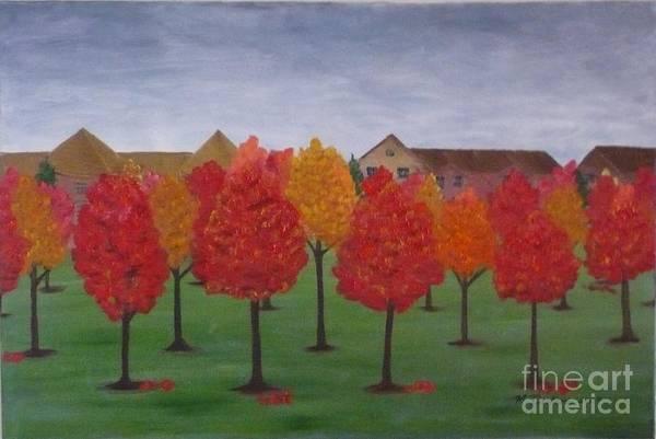 Painting - Fall In Markham by Monika Shepherdson
