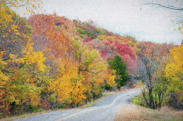 Photograph - Fall In Southern Oklahoma by Victor Culpepper