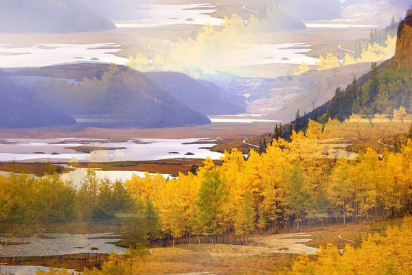 Fall In The Rockies Art Print