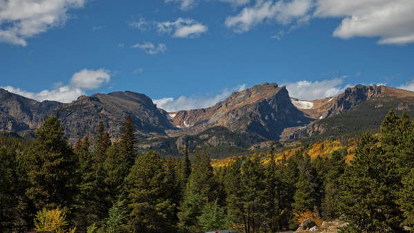 Photograph - Fall In The Rockies by Ronald Lutz