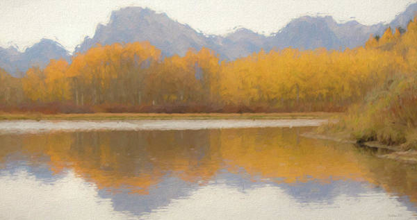 Photograph - Fall In The Tetons by Teresa Wilson