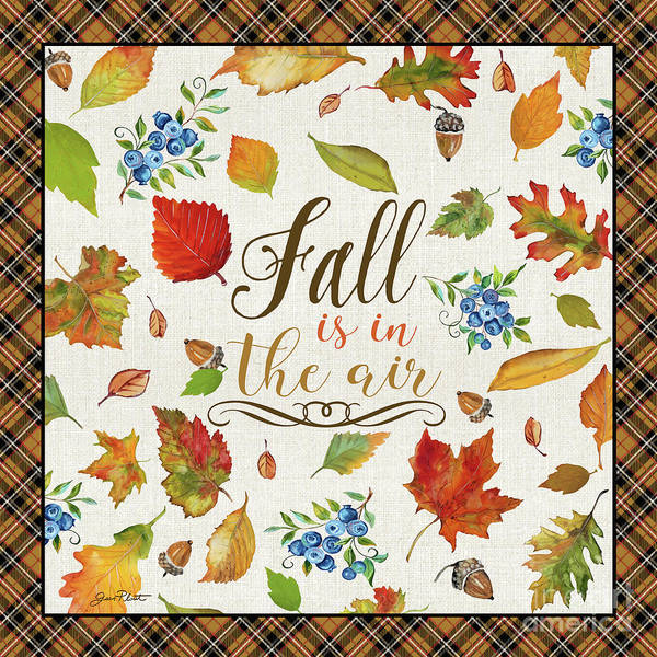 Wall Art - Painting - Fall Is In The Air by Jean Plout