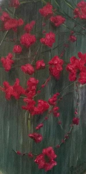Wall Art - Painting - Fall Ivy by Joann Renner