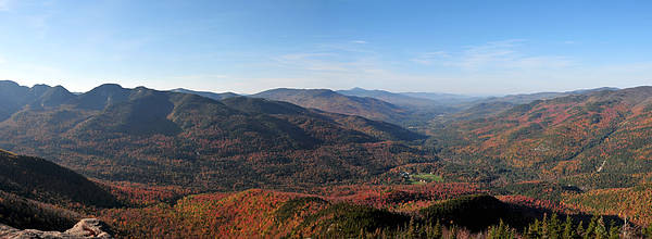 Photograph - Fall Keene Valley Panorama by Peter DeFina