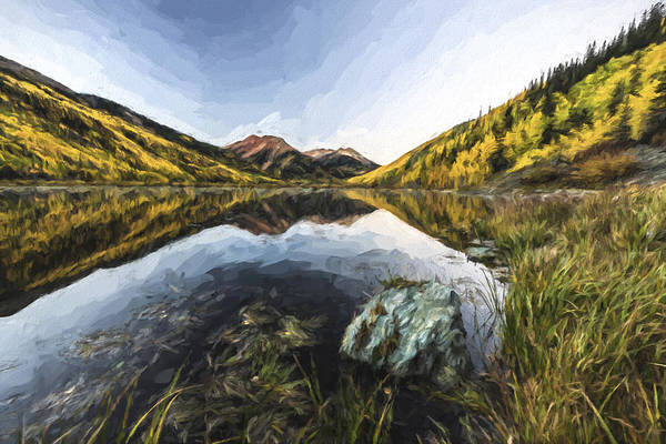 Digital Art - Fall Mirror II by Jon Glaser
