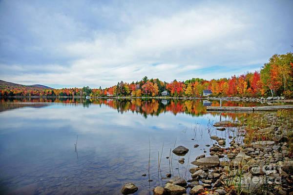 Photograph - Fall On Porter Lake by Alana Ranney