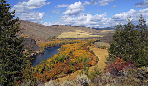 Photograph - Fall On Snake River by Ronnie and Frances Howard