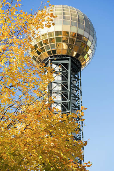 Photograph - Fall On Sunsphere by Sharon Popek