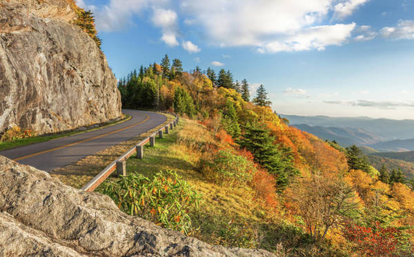 Photograph - Fall On The Blue Ridge Parkway by Donnie Whitaker