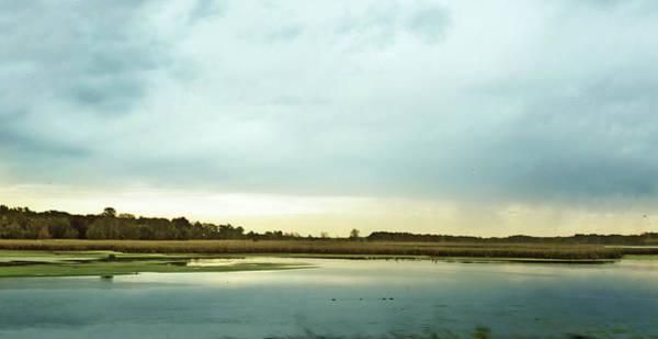 Wall Art - Photograph - Fall Over Michigan Marshlands by Garth Glazier
