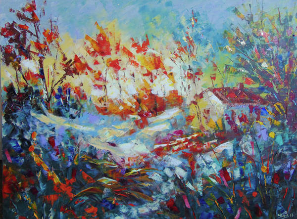 Painting - Fall Provence by Frederic Payet