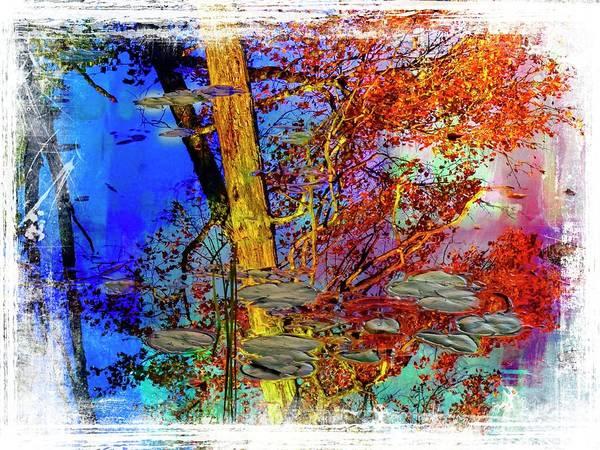 Digital Art - Fall Reflection by Rusty R Smith