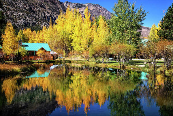 Photograph - Fall Reflections At The Double Eagle by Lynn Bauer