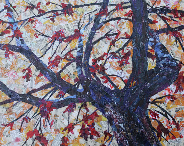 Painting - Fall Remmants  by Jenny Armitage