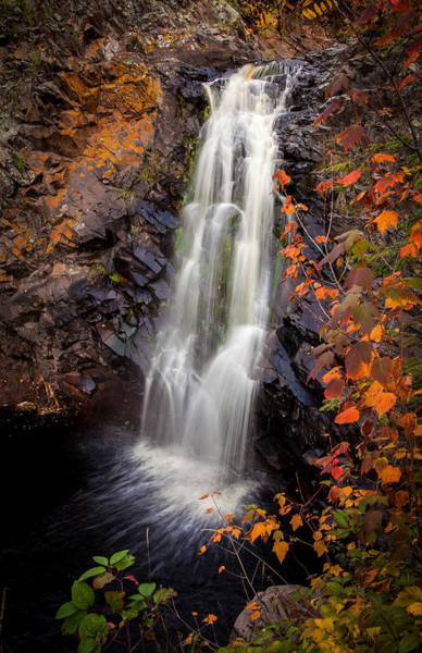 Photograph - Fall River Falls Autumn by Rikk Flohr