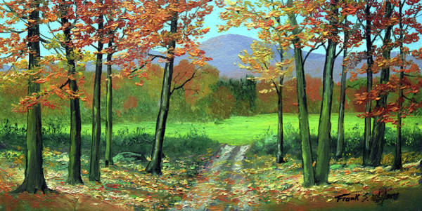 Painting - Fall Road by Frank Wilson